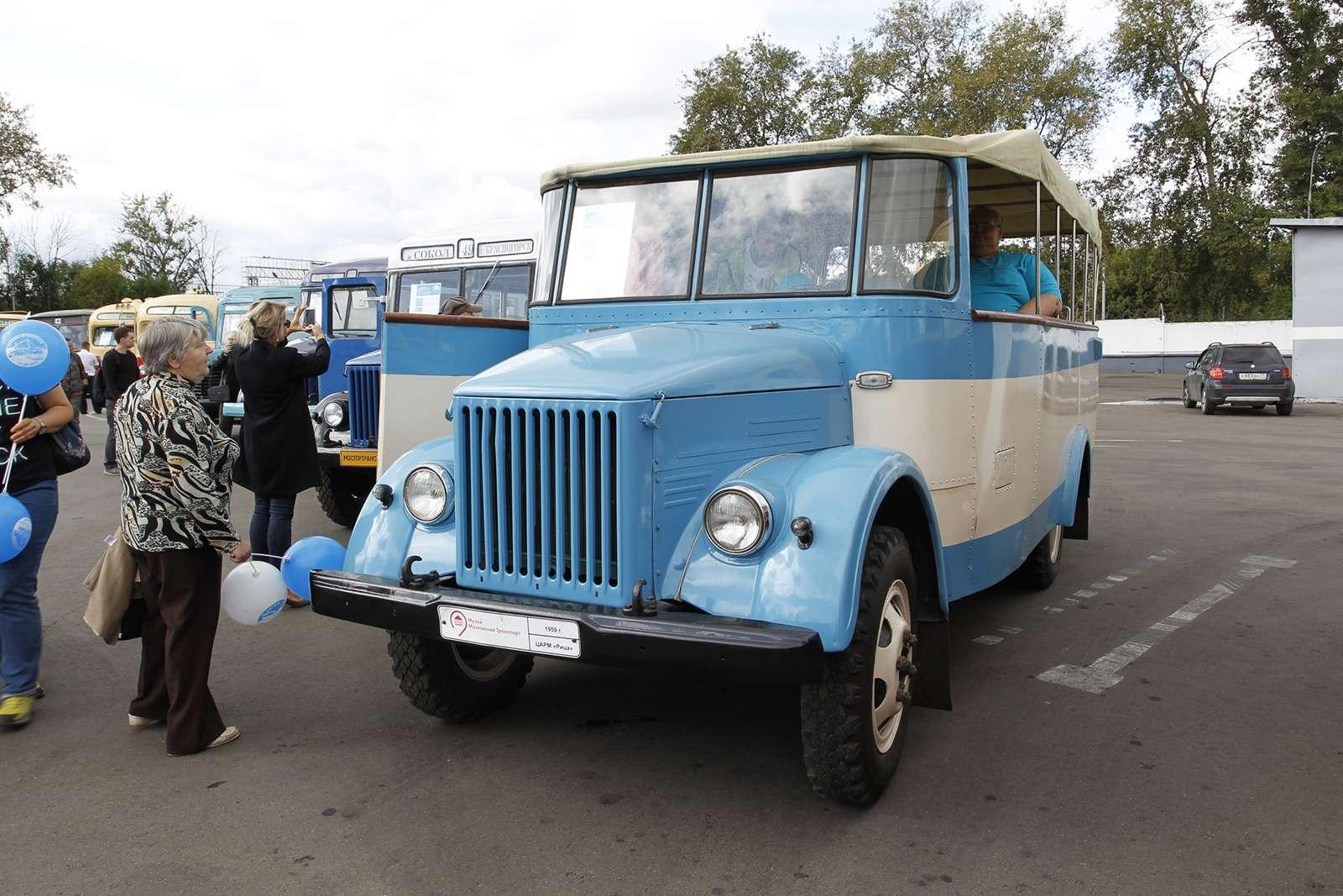 Автобусы нашего детства— выставка пассажирского транспорта— фото 792650
