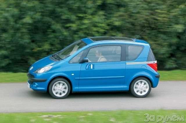 Peugeot 1007. Сезам открылся— фото 56409
