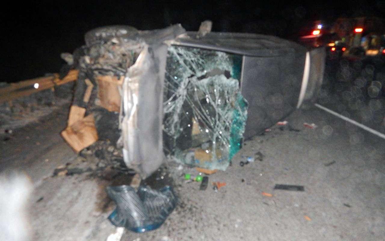 Лишенный прав за«пьянку» водитель устроил ДТП с10пострадавшими— фото 935866