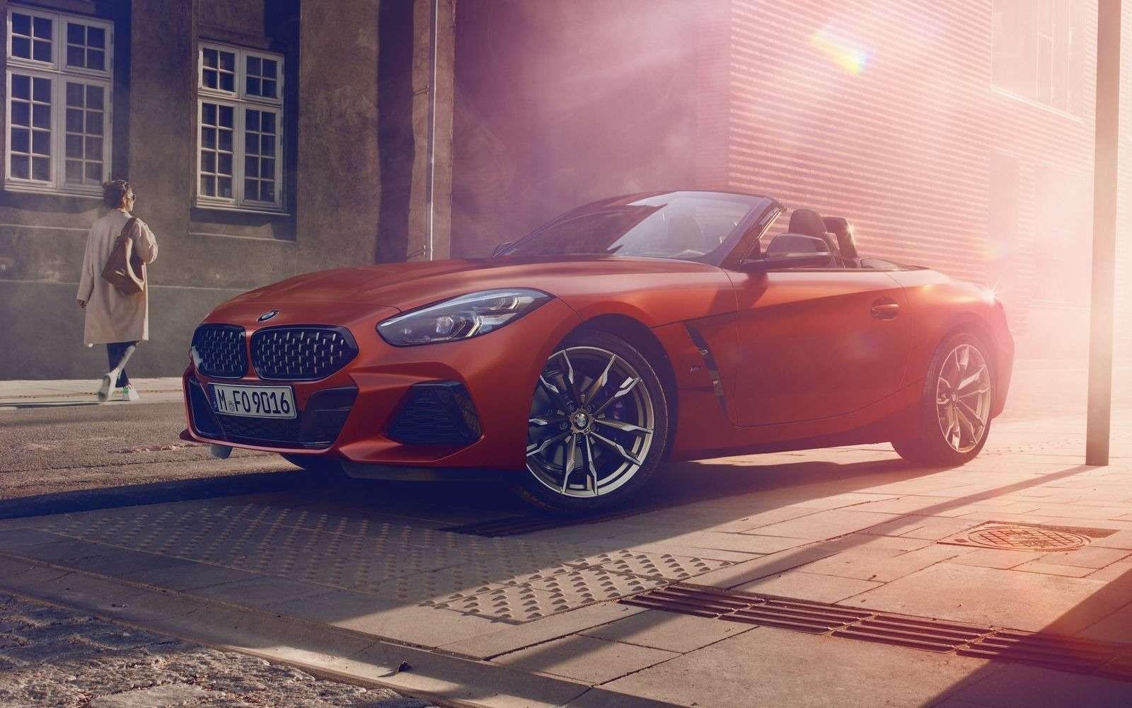 Новый родстер BMW Z4представлен официально— фото 898538
