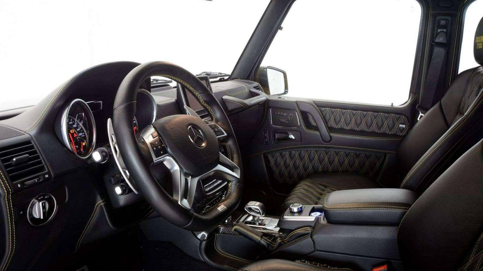 Brabus-такси: желтый Mercedes-AMG G63 готов «бомбить» поавтобанам— фото 577302