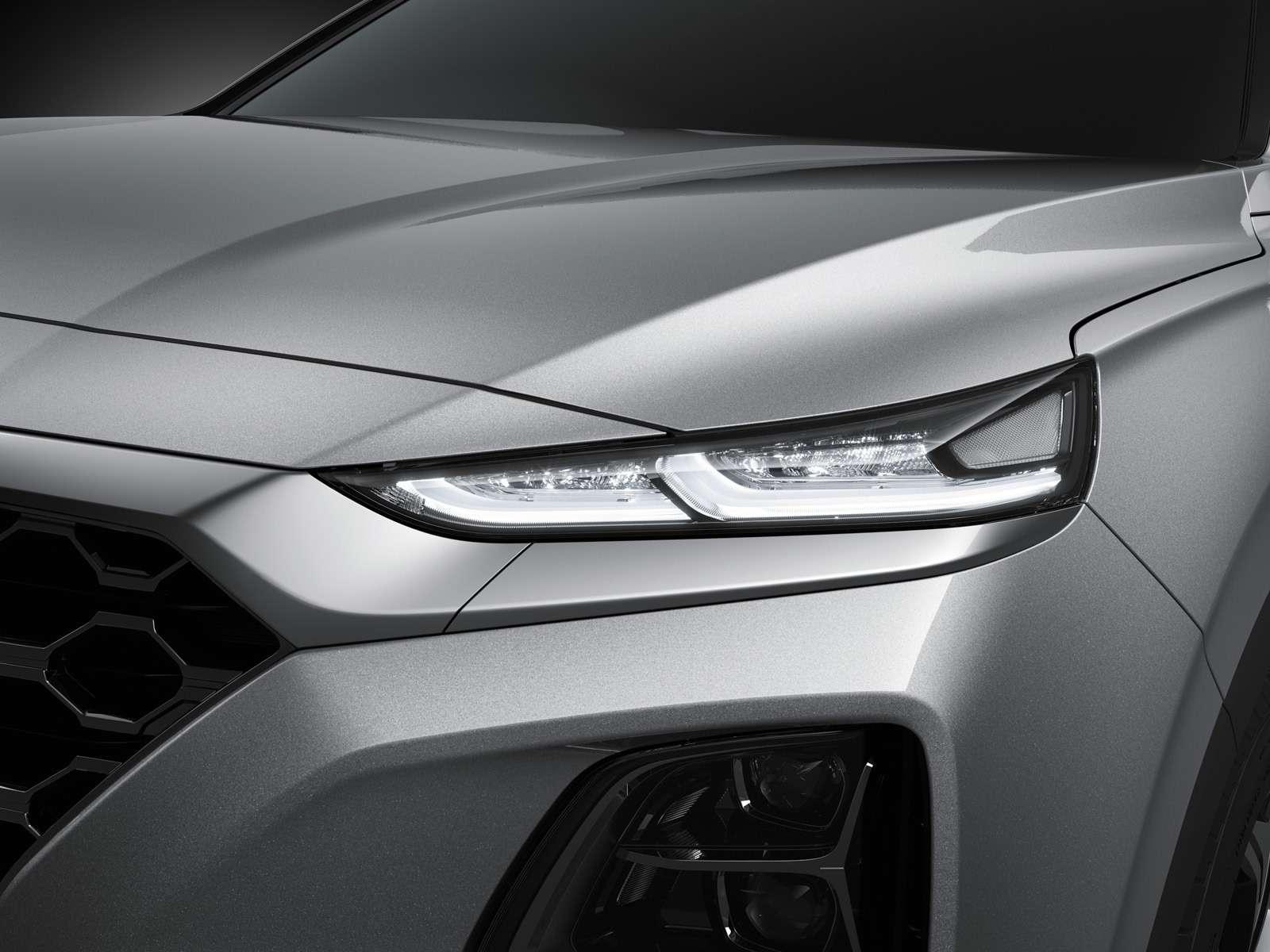 Новый Hyundai Santa Fe: российские цены икомплектации— фото 893455
