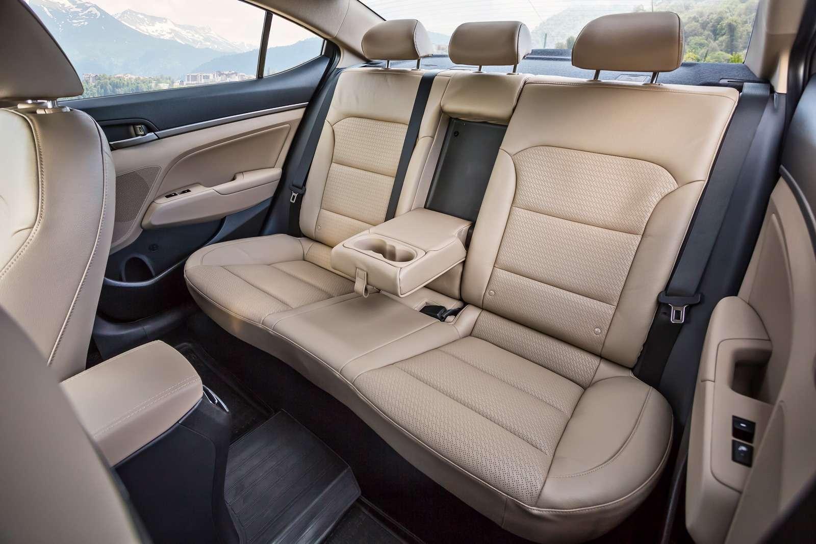 Новая Hyundai Elantra: тигрокот— фото 613270