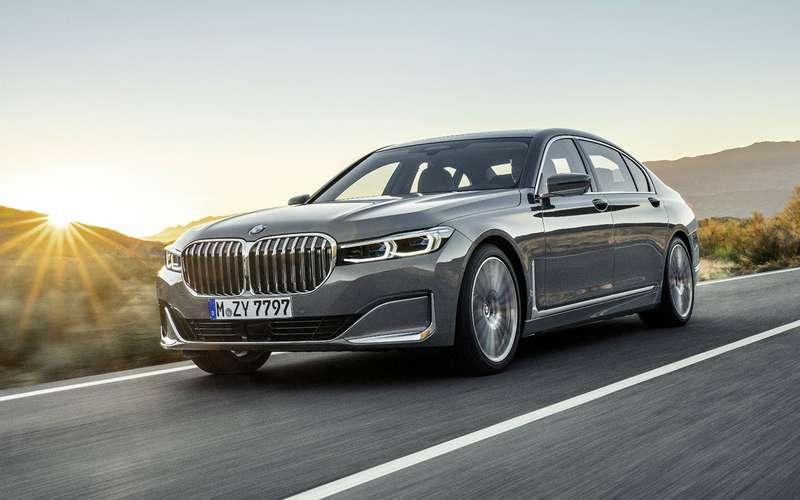 Самый мощный BMW новой 7-й серии будет электрическим