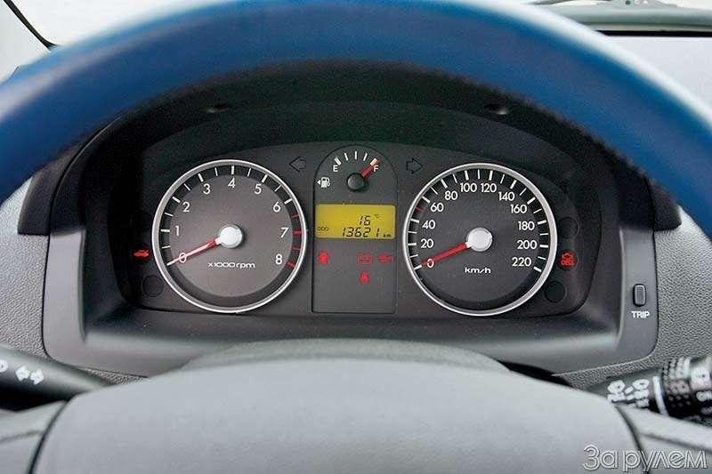 Тест Lada Kalina, Hyundai Getz, Ford Fiesta. Вкомпании спровинциалом.— фото 68883