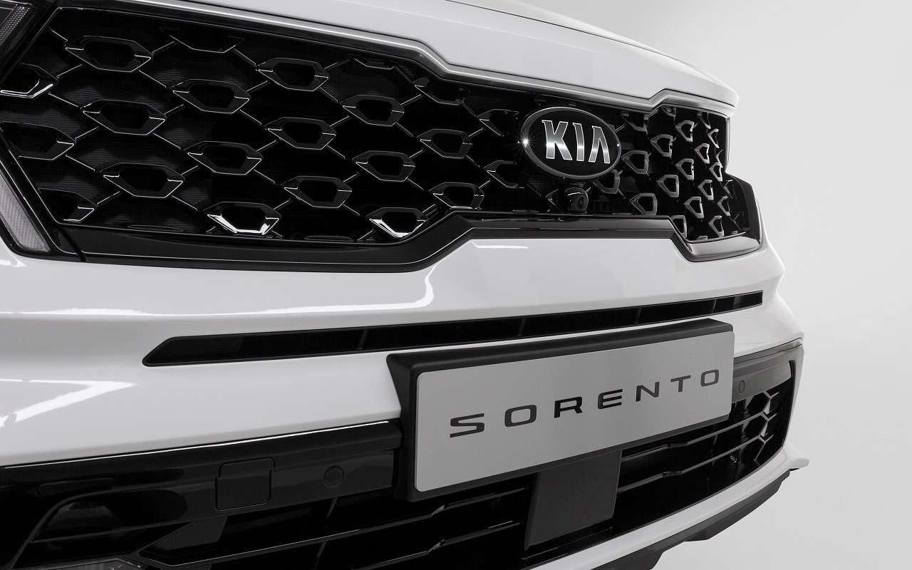 Парковка спульта: новые подробности оновом Kia Sorento— фото 1095537