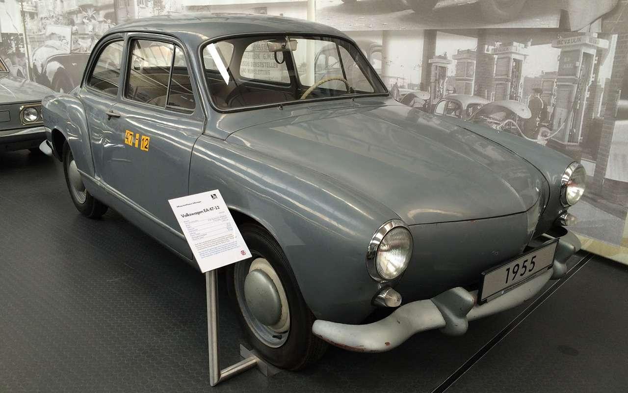 13моделей Volkswagen, которых выникогда невидели— фото 995709