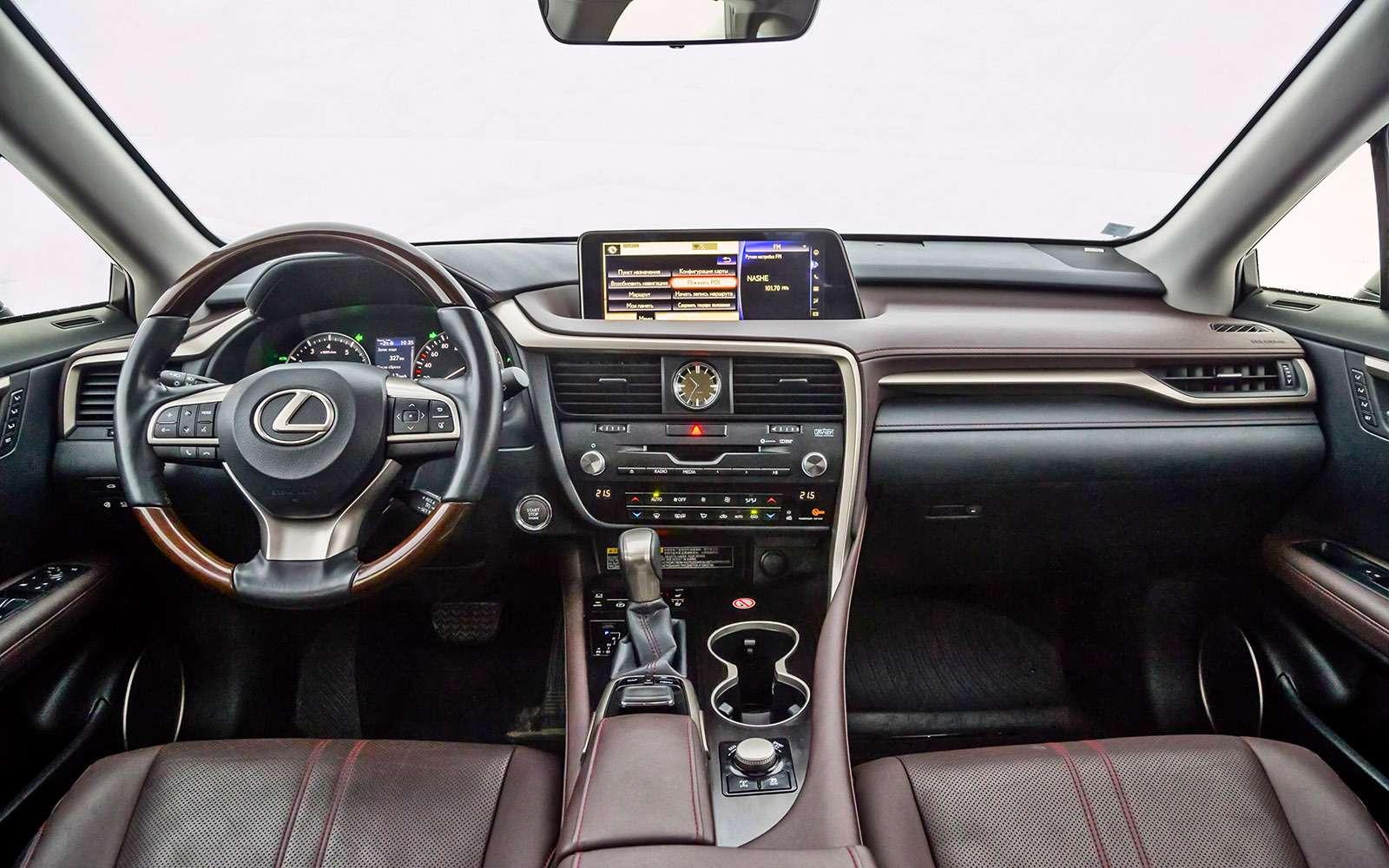 Тест премиум-кроссоверов: Lexus RX350, Cadillac XT5и Jaguar F-Pace— фото 721778