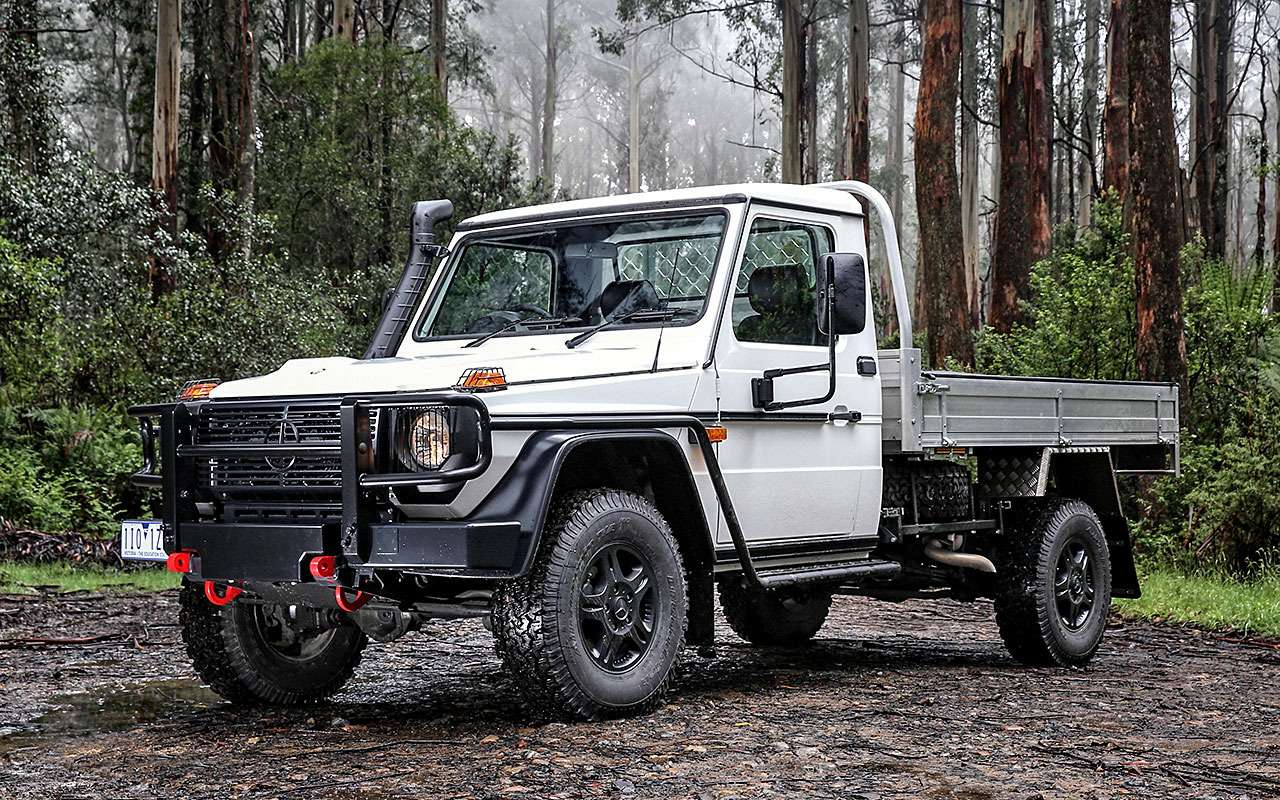 Mercedes-Benz G300CDI Cab Chassis