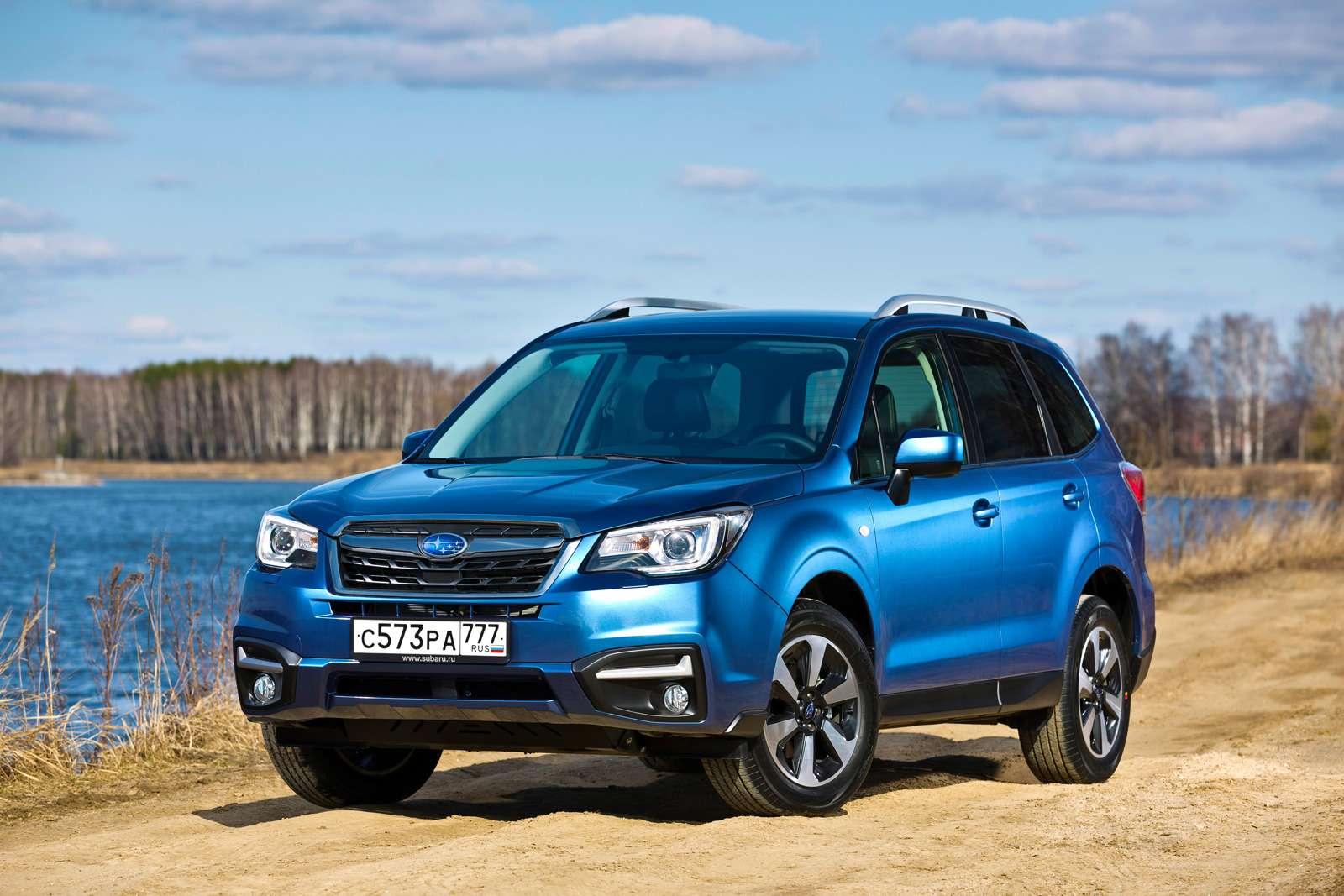 Обновленный  Subaru Forester: тише едешь...— фото 592866