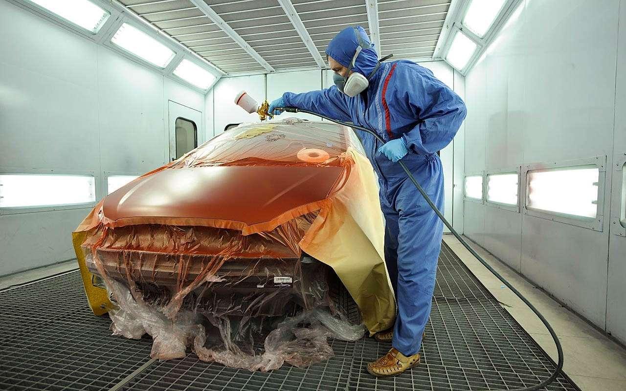 Покрасить или обтянуть кузов пленкой: что выгоднее?— фото 810342