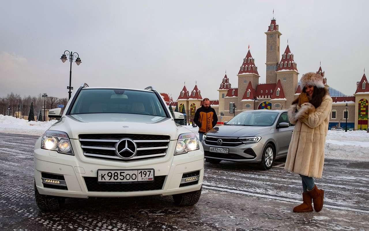 Новый VWPolo или старый Mercedes GLK? Выудивитесь!— фото 1231663