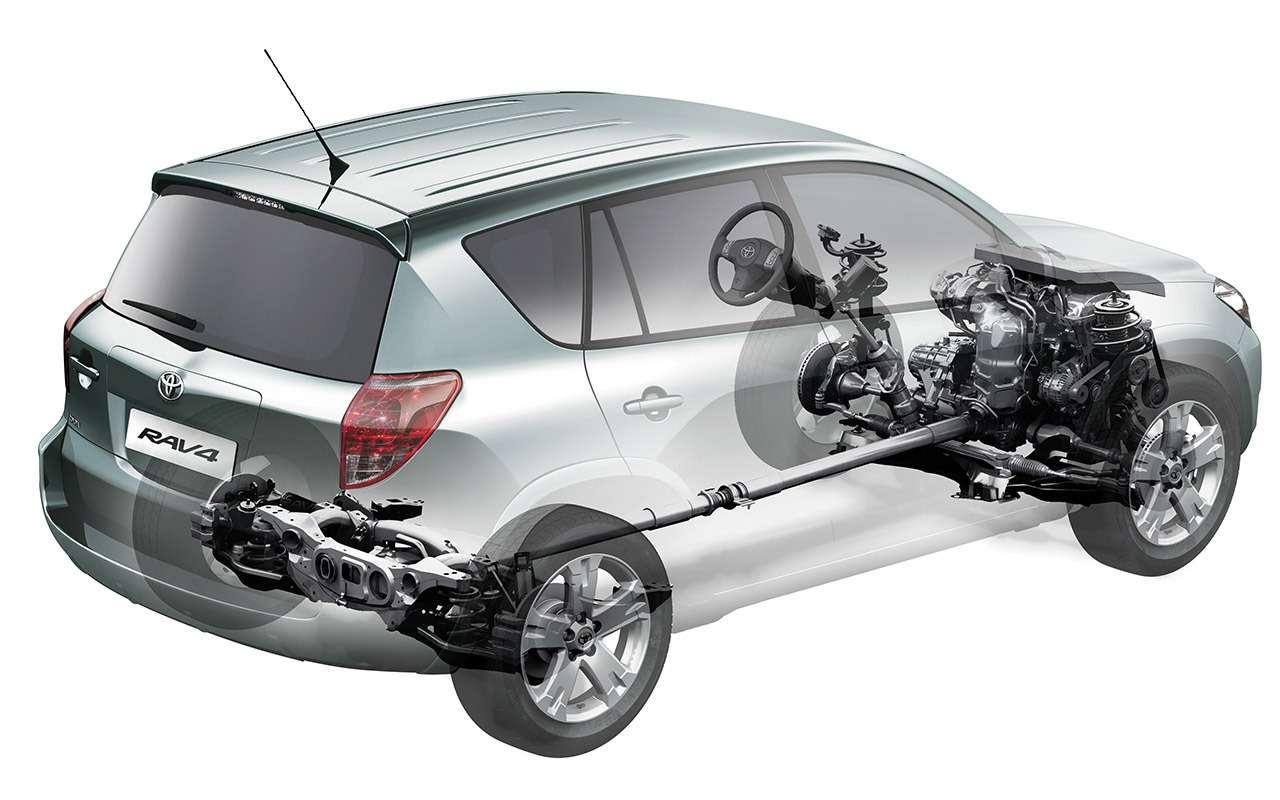 Подержанный Toyota RAV4— все проблемы ислабости— фото 1116326