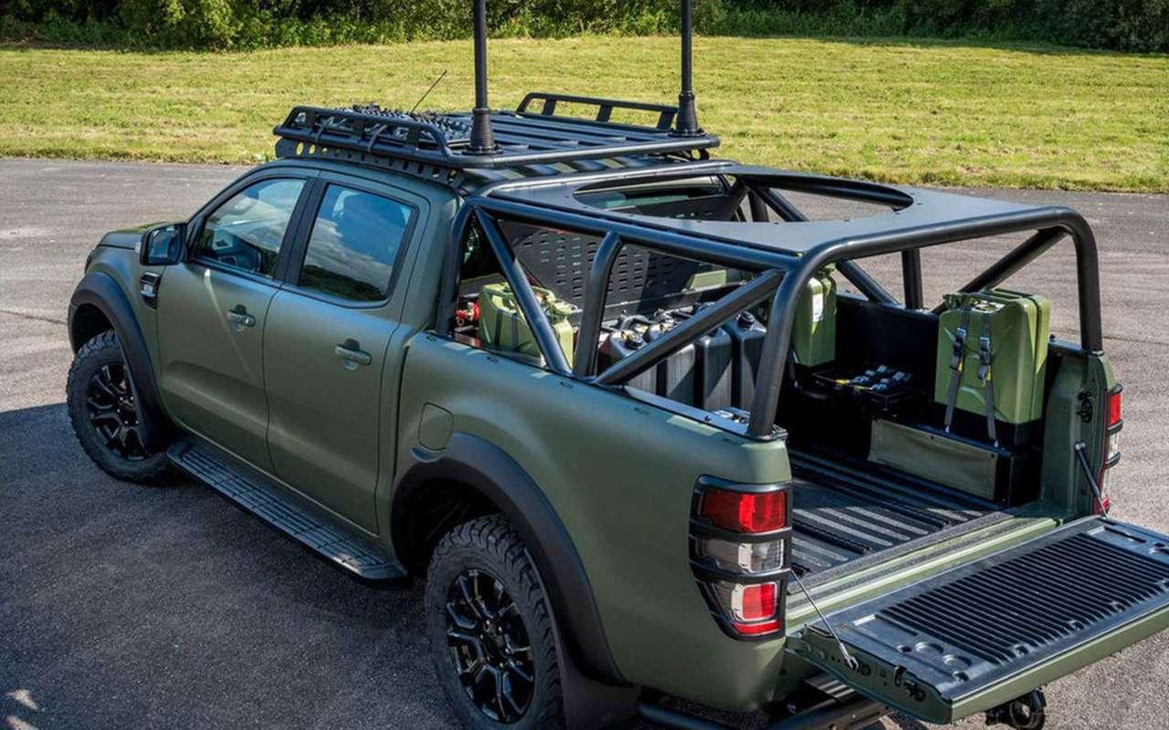 Встиле милитари: Ford Ranger переделали дляармии