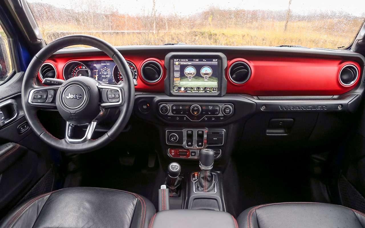 Тест-драйв легенд бездорожья: Lada 4x4, Suzuki Jimny, Jeep Wrangler— фото 1089406