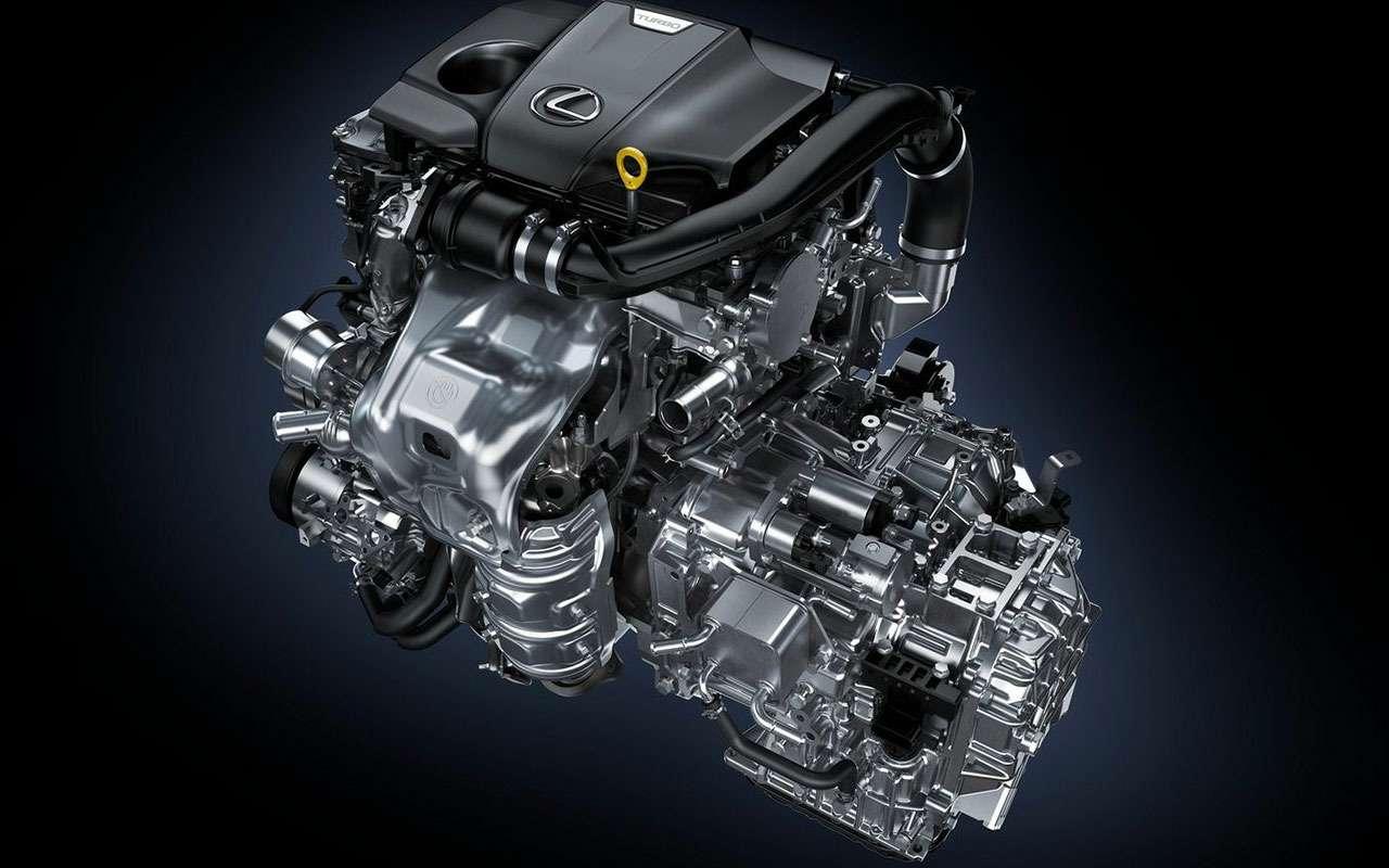 двигатель ссистемой электронноуправляемого турбонаддува Lexus