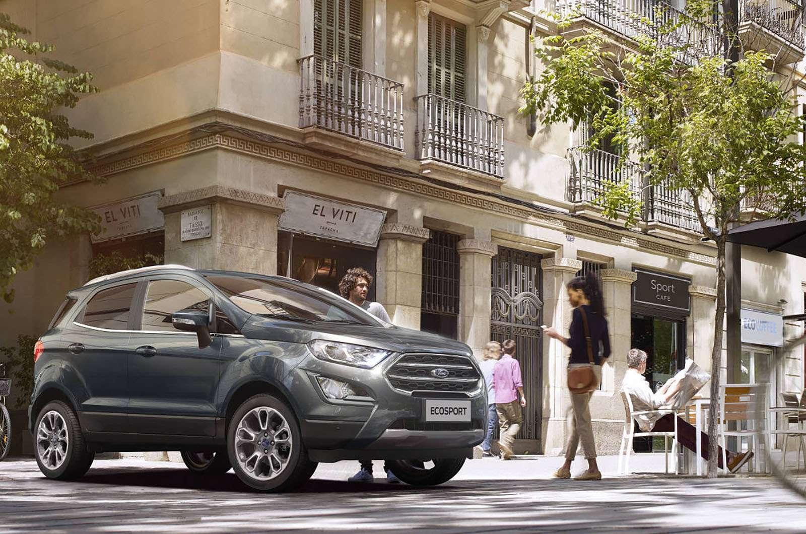 Обновленный Ford EcoSport вРоссии: новые опции иновые цены— фото 873260