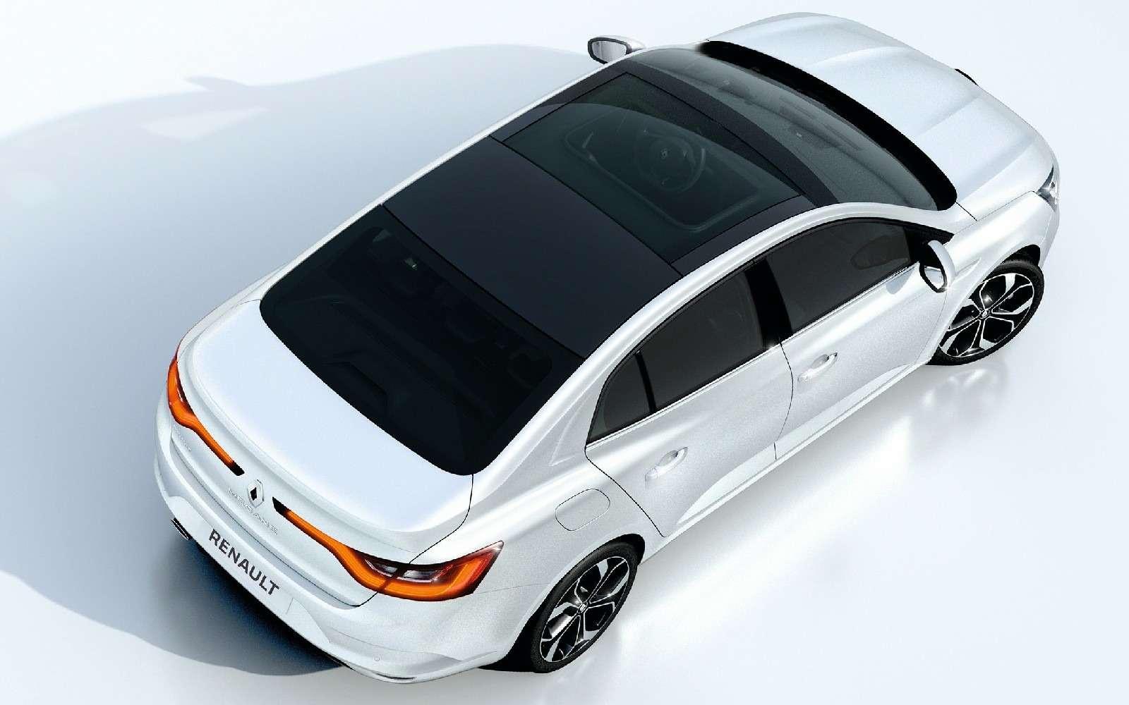 ИзТурции слюбовью: представлен новый седан Renault Megane— фото 607493