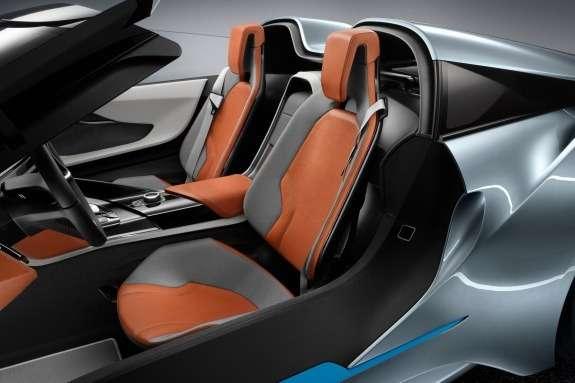 BMWi8Spyder Concept inside