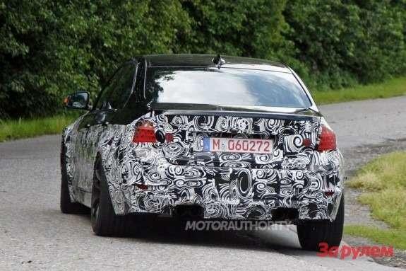 BMWM3sedan rear view