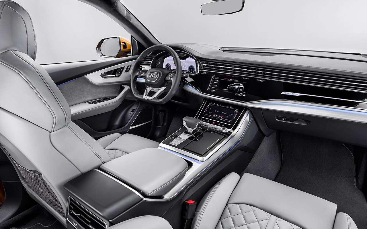 Новый Audi Q8: когда восемь меньше семи— фото 882153