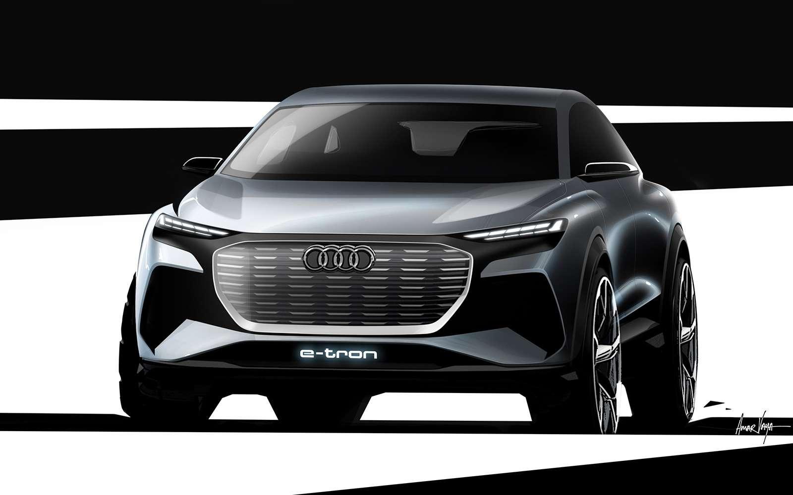 Audi показала дизайн нового кроссовера— фото 948995