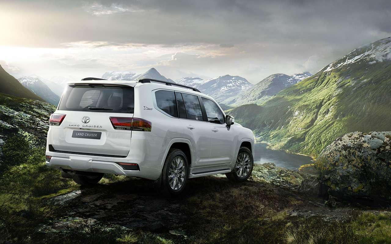 10фишек нового Toyota Land Cruiser (+первое видео!)— фото 1252650