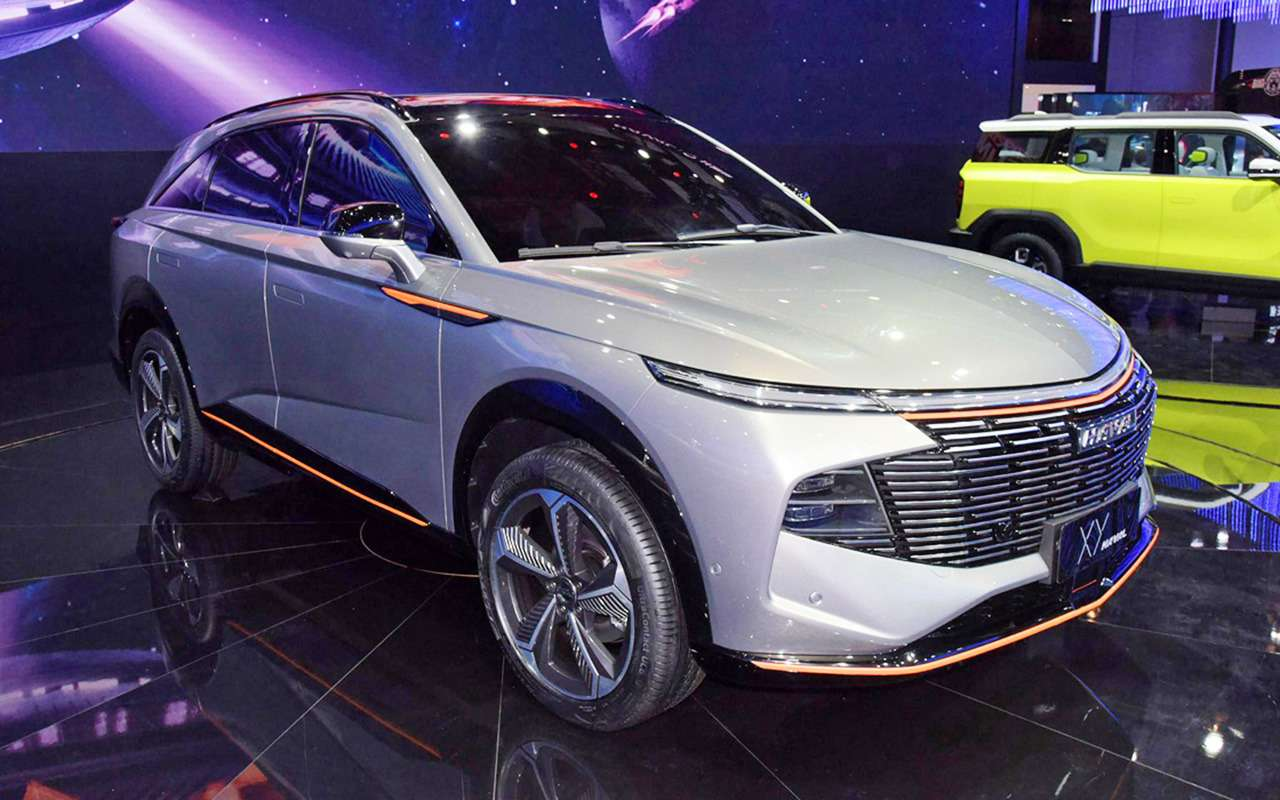6 новых автомобилей изКитая— ждем вРоссии— фото 1243473