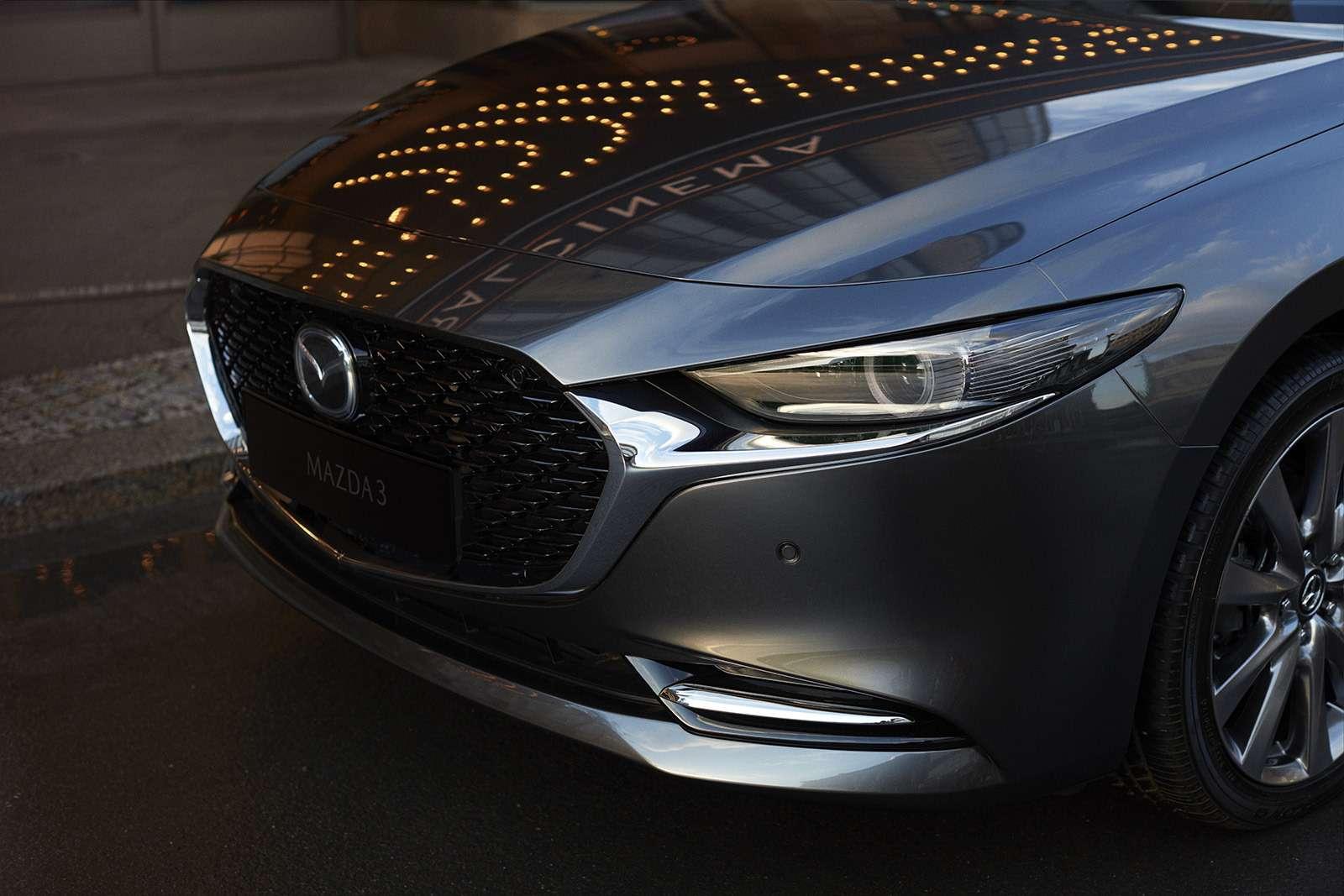 Новая Mazda 3: рассматриваем вдеталях совсех сторон— фото 928219