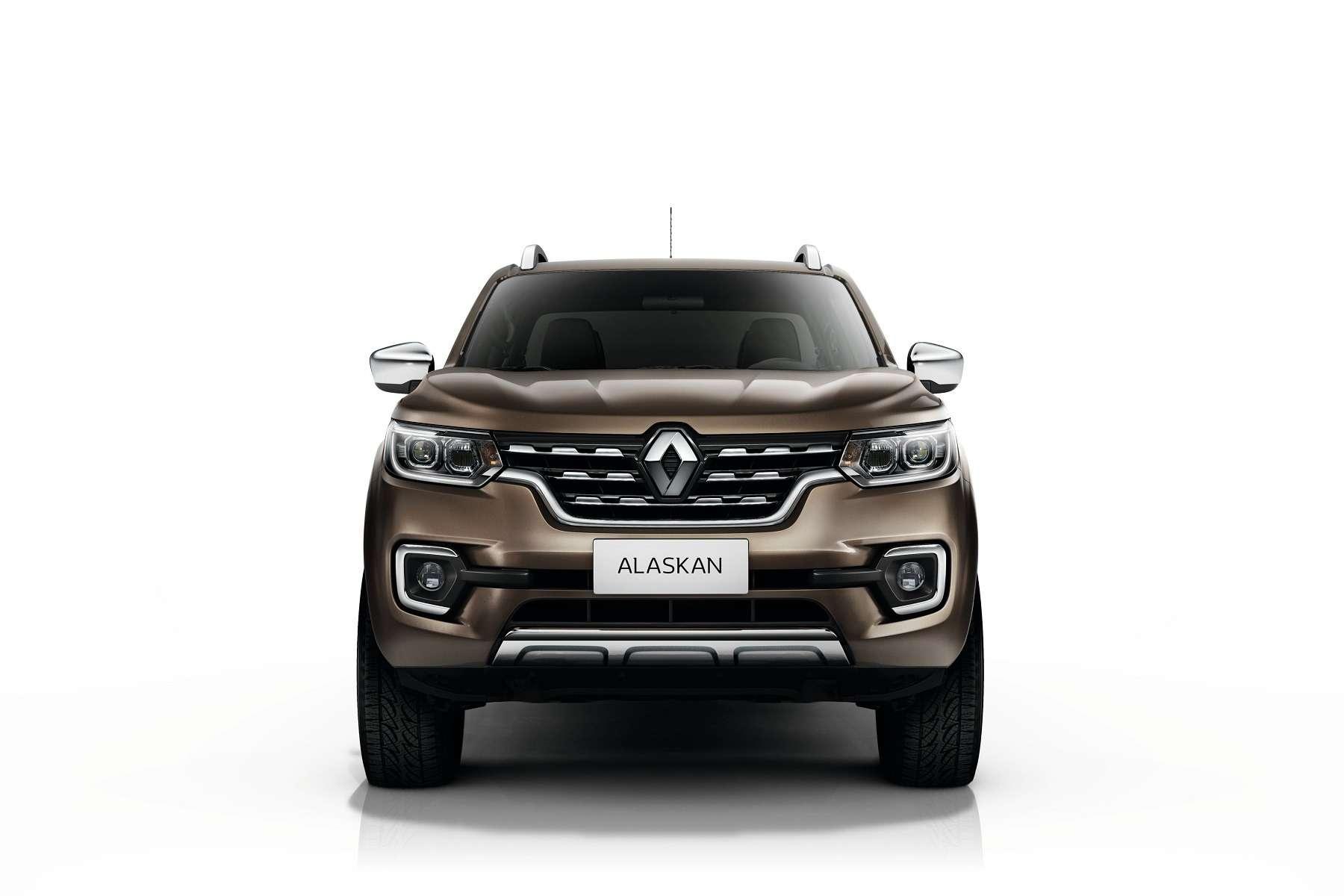 Ниссан поимени Renault: представлен пикап Alaskan— фото 603830