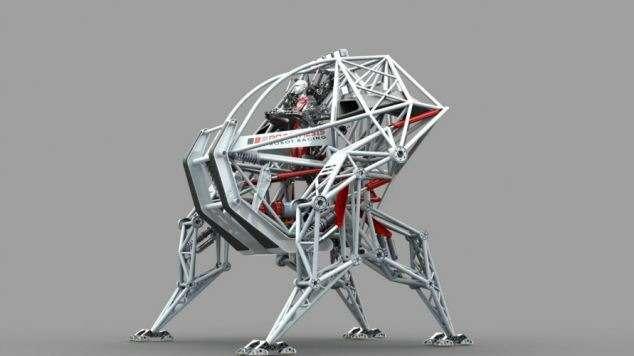 В Канаде строят анти-робот-экзоскелет дляспорта