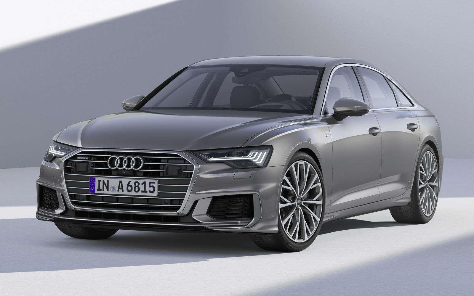 Новый Audi A6: найди десять отличий— фото 849231