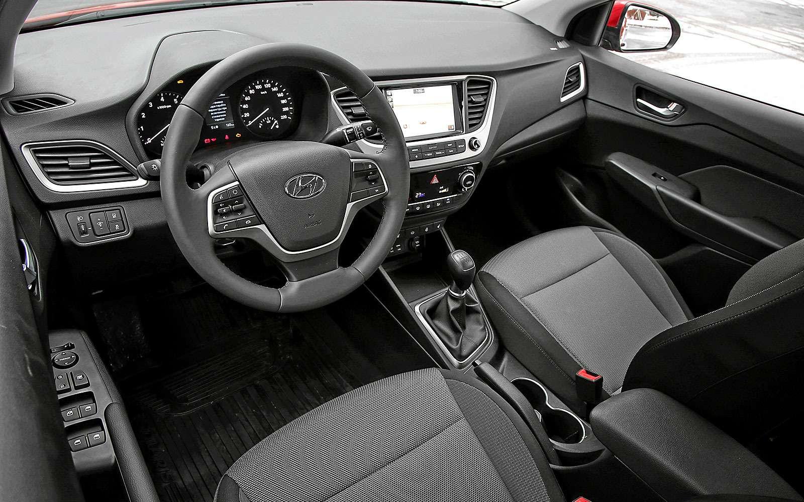 Новый Hyundai Solaris: объявлены официальные цены— фото 708475