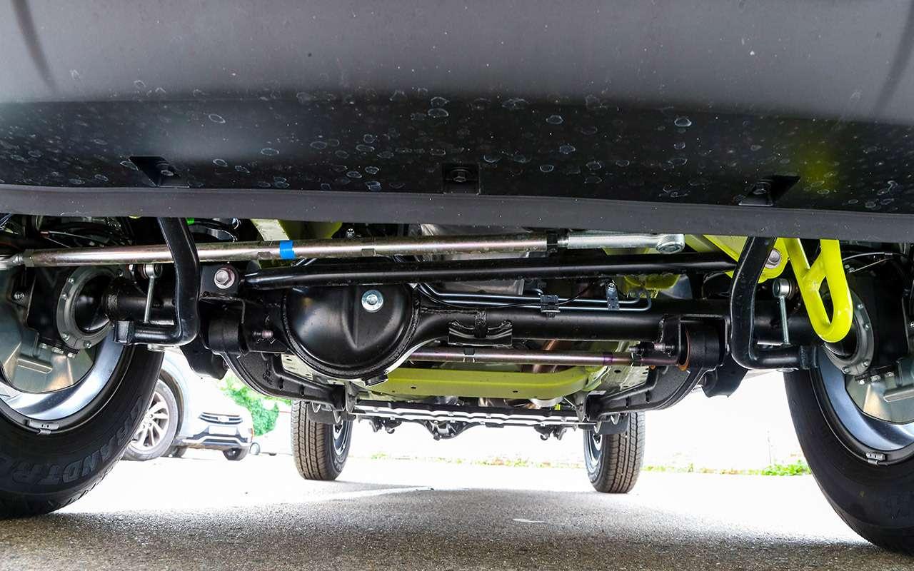 Новый Suzuki Jimny: первый тест-драйв ивидео— фото 998213