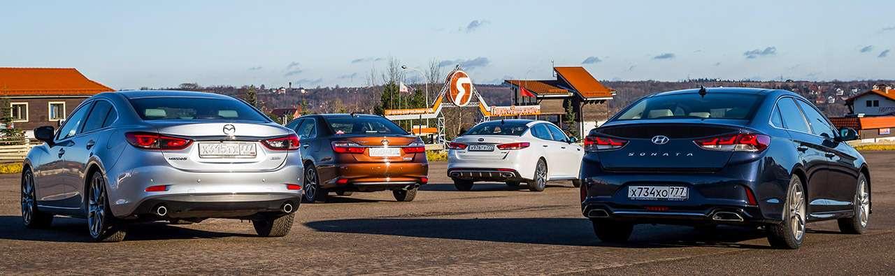 Hyundai Sonata против конкурентов— большой тест ЗР— фото 834868