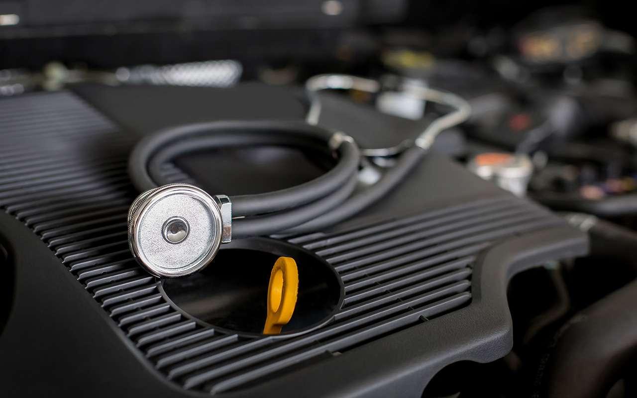 Посторонний шум при пуске мотора: вчем причина ичто делать— фото 916825