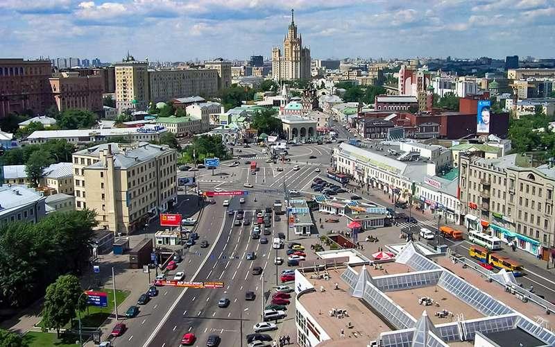 Таганская площадь, Москва, Россия