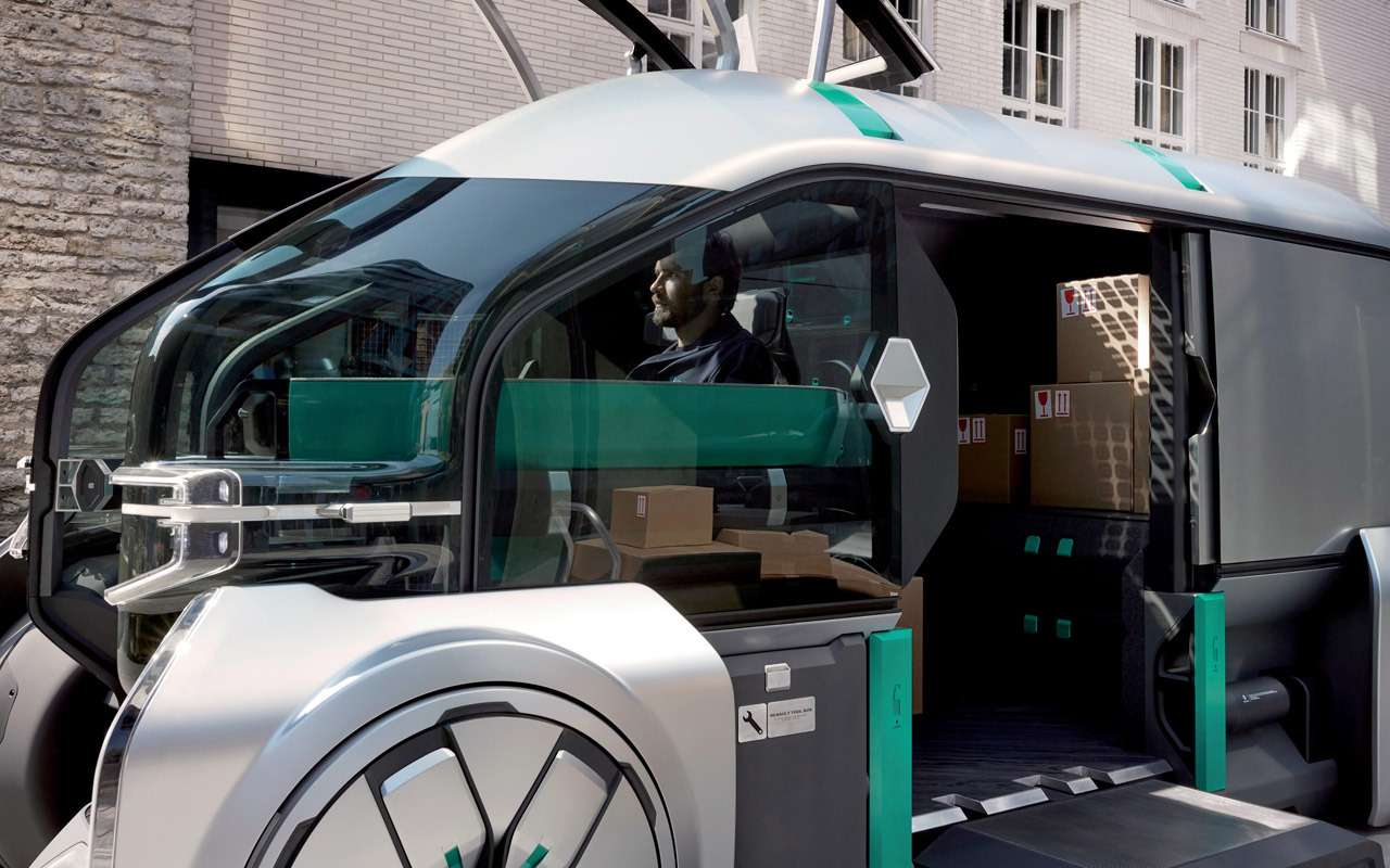Renault показала, какой будет доставка товаров вбудущем— фото 906997
