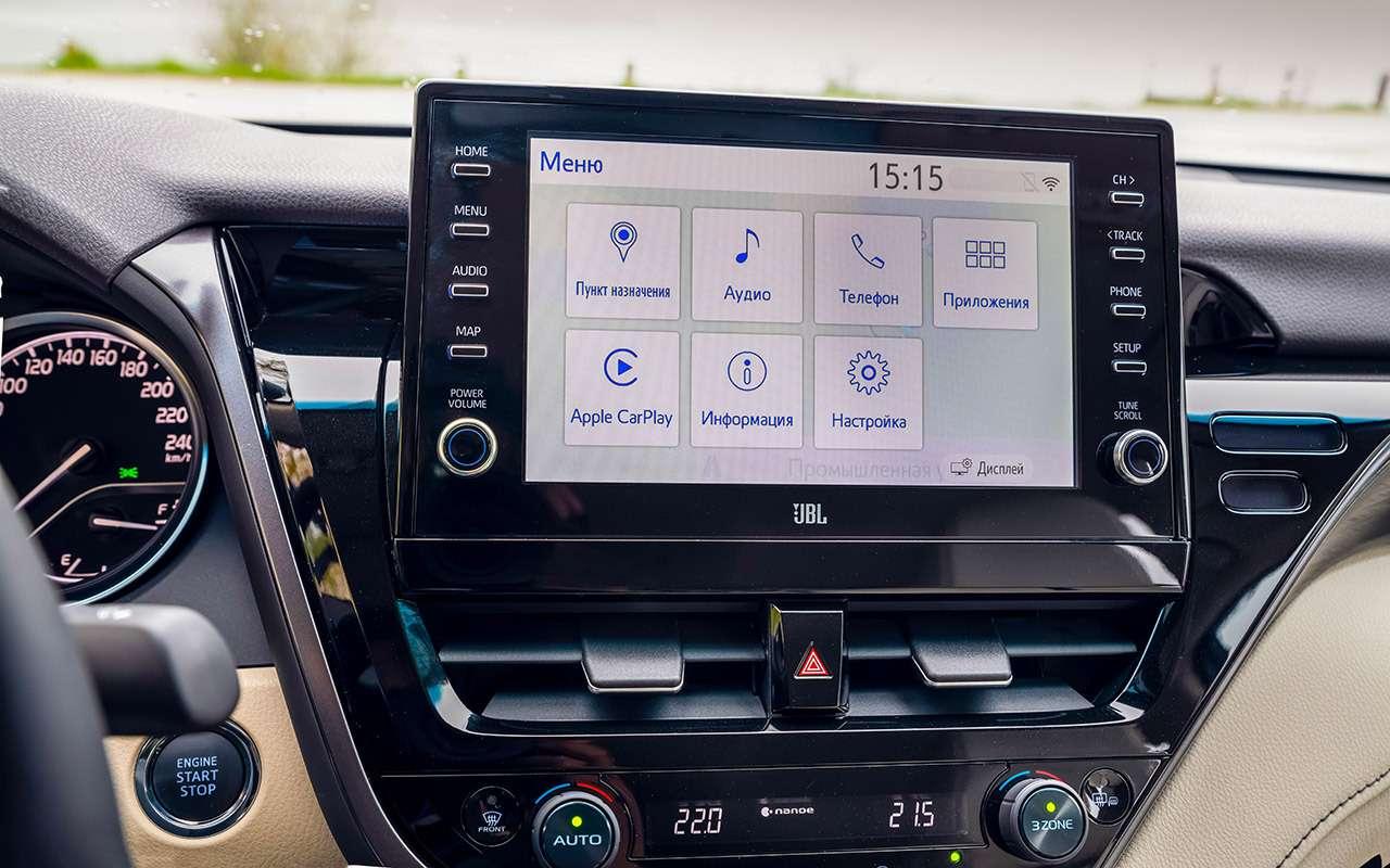 Toyota Camry 2021: все ееизменения— фото 1252882