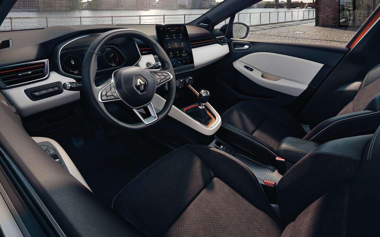 Renault показала салон нового Clio— фото 943983