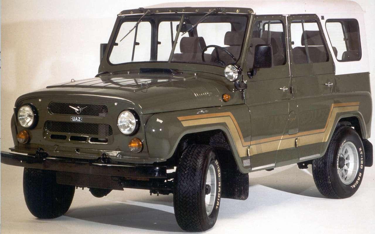 «Козлик» УАЗ-469— таких модификаций выточно не видели!— фото 978720