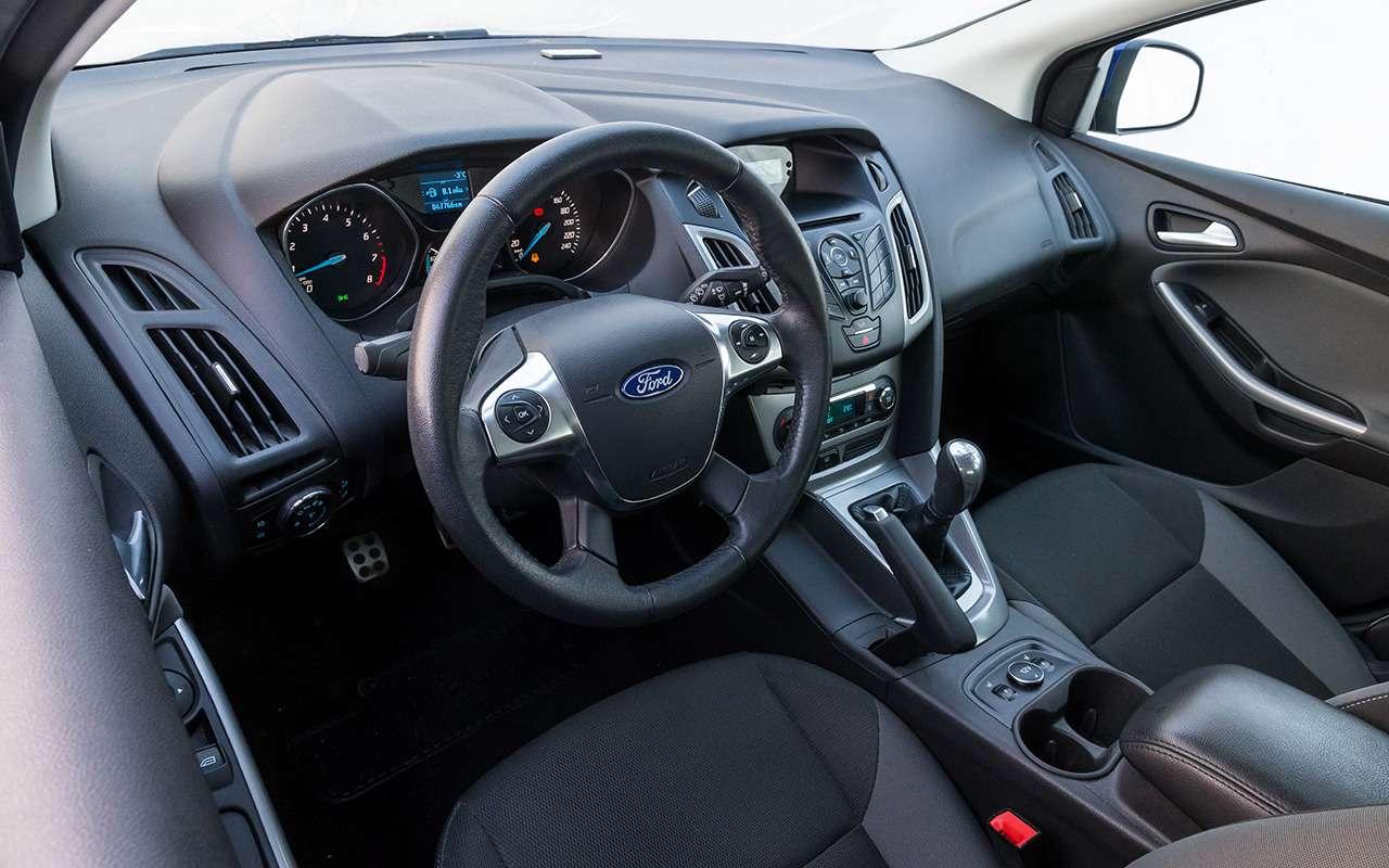 Почему яне поменяю пятилетний Ford Focus нановую Гранту— фото 975278