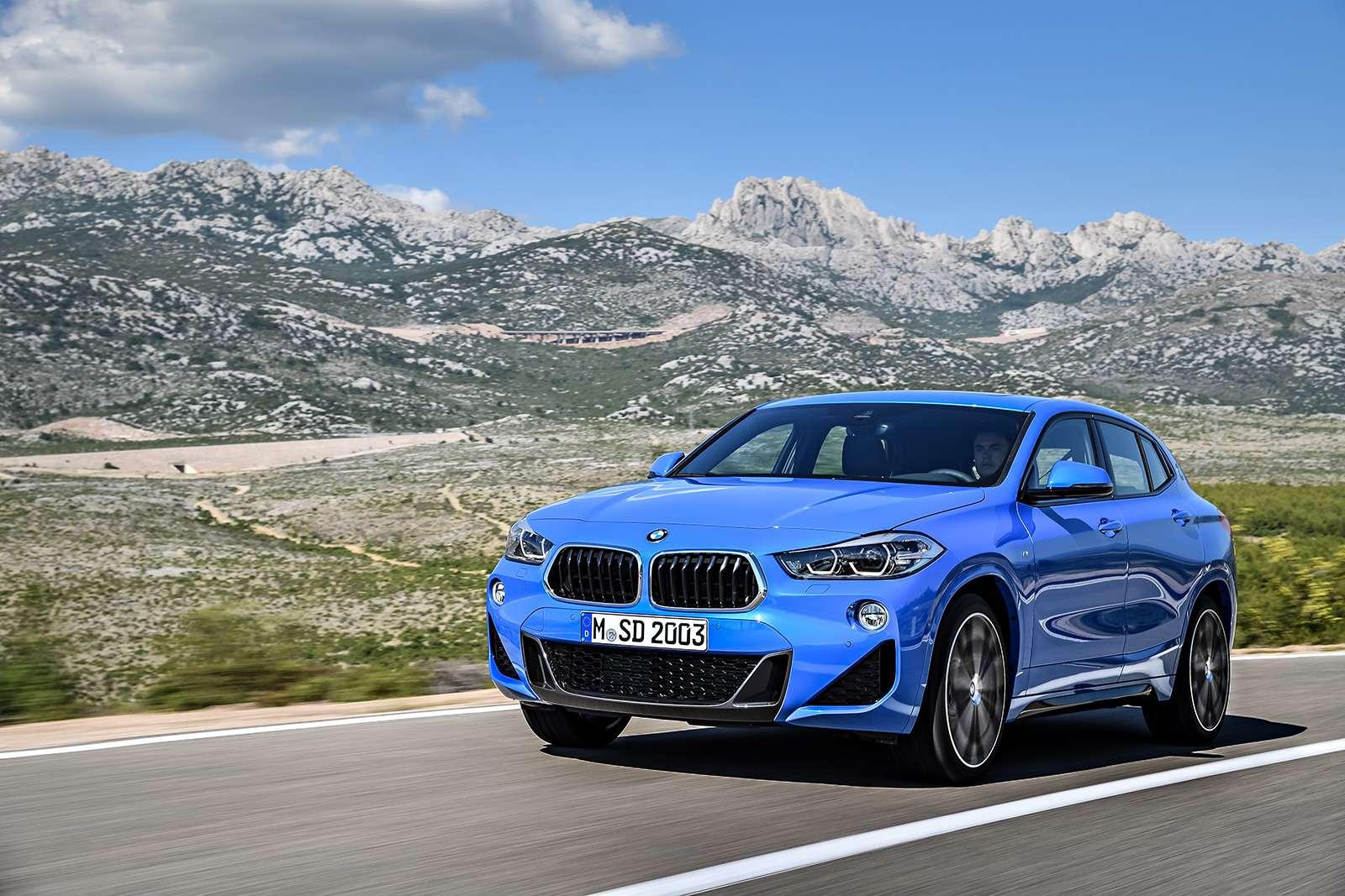 BMWрассекретила российские цены накроссовер X2— фото 809812