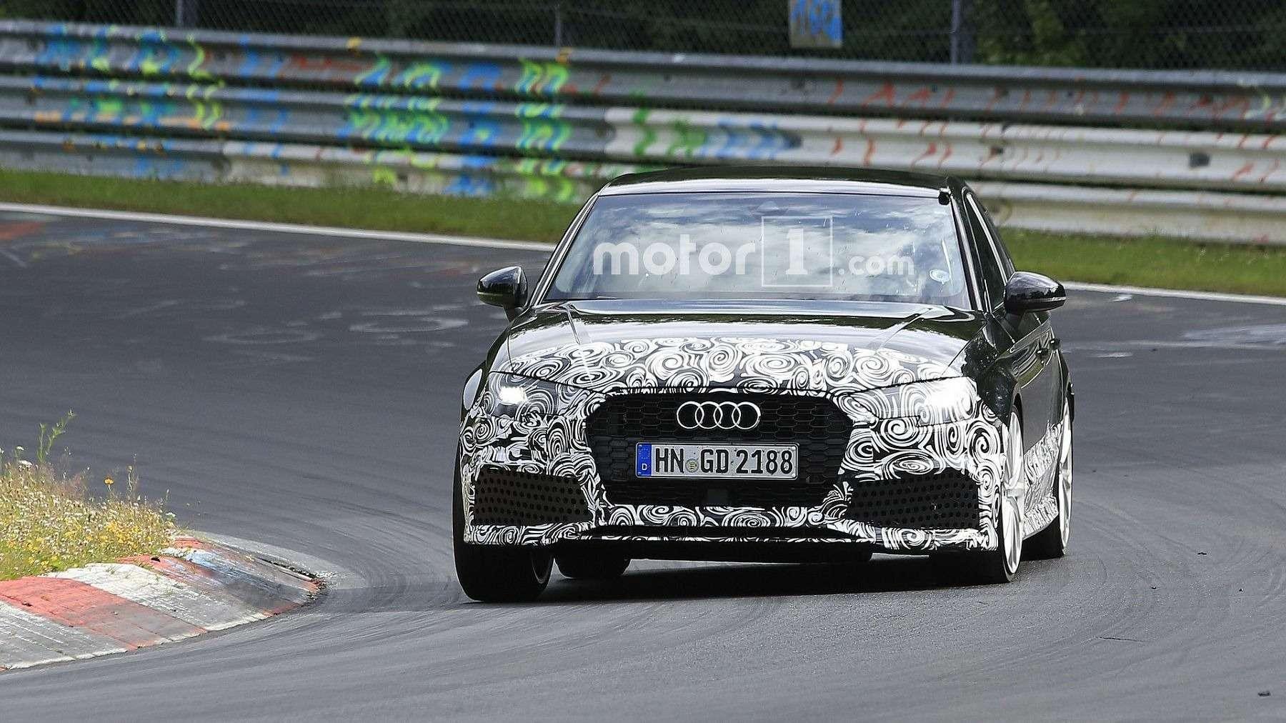 Силовые тренировки: седан Audi RS3 готовится сожрать Mercedes-Benz— фото 607798