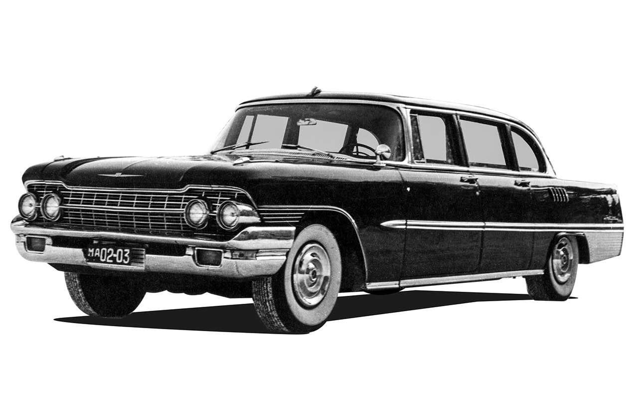 Лимузин партийной элиты— как делали главный автомобиль страны ЗИЛ-111— фото 985816