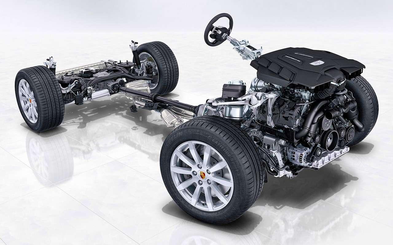 Porsche Cayenne третьего поколения— тест-драйв ЗР— фото 834170