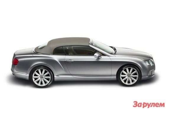 Bentley Continental GTC side view