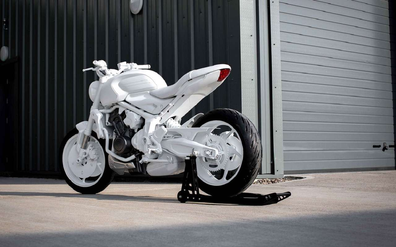 Мотоцикл Triumph Trident: первые фото концепта— фото 1163191
