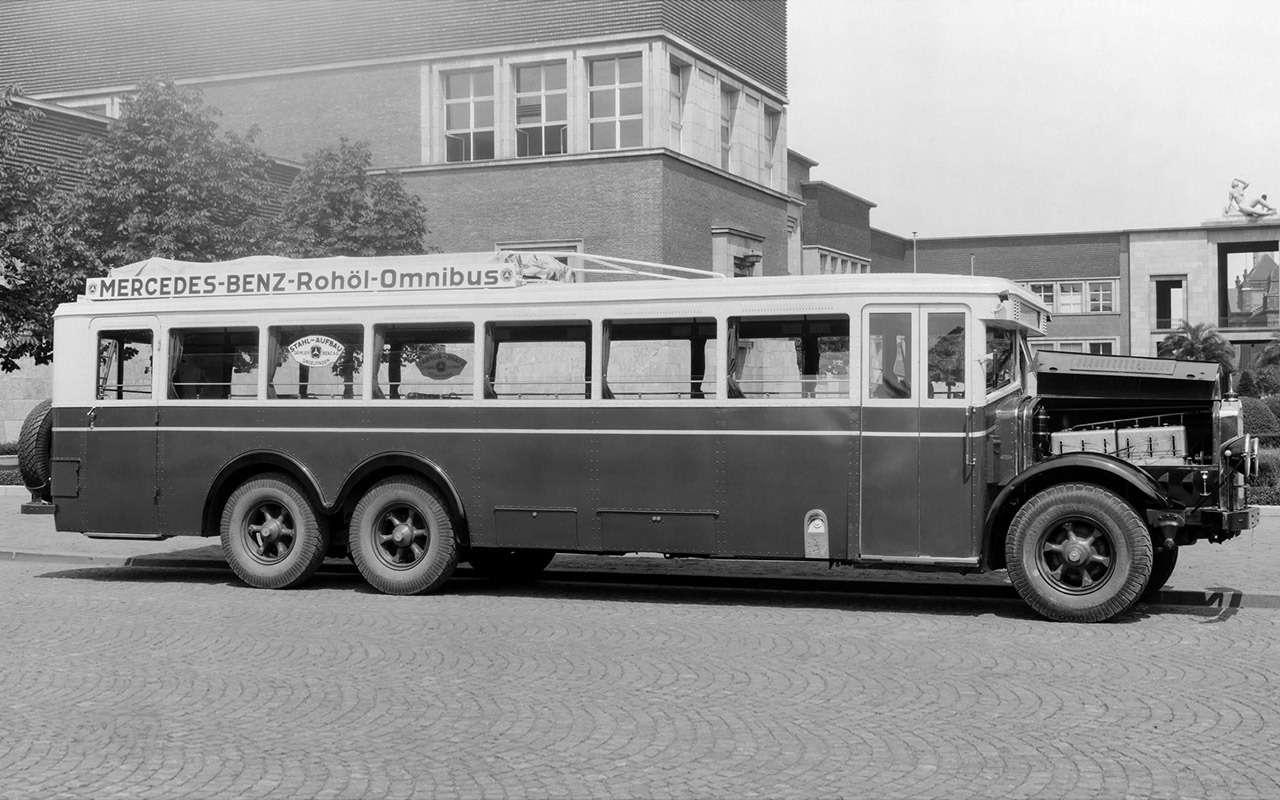 Таких автобусов мыневидели!— Гигант ЯА‑2— фото 1275749
