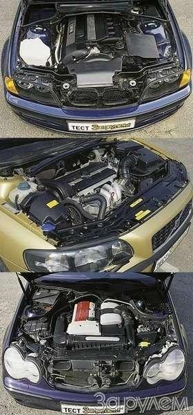 BMW3, Mercedes-Benz C, Volvo S60. ИЗМЕРЯЕМ ПРЕСТИЖ— фото 25336